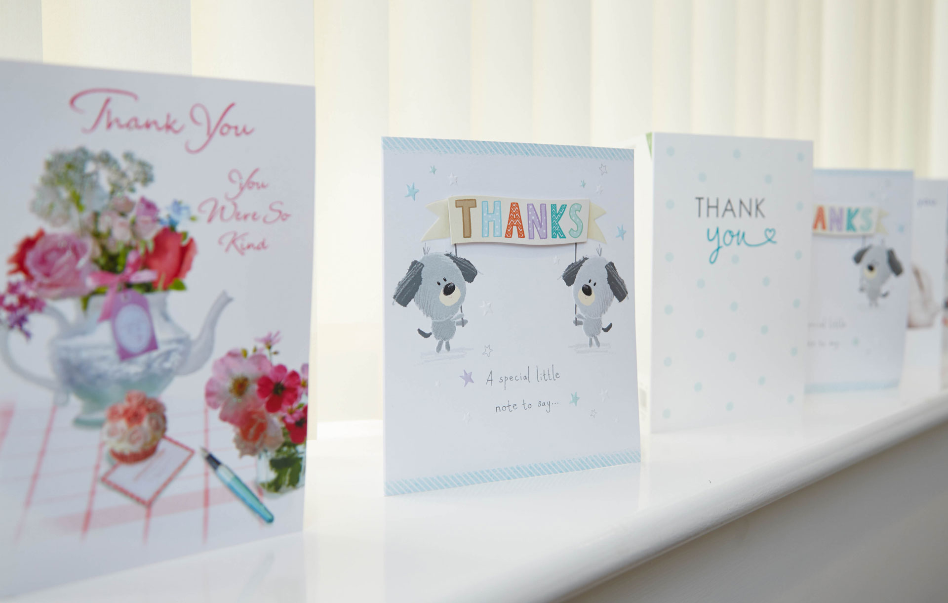 Thank you cards at vets